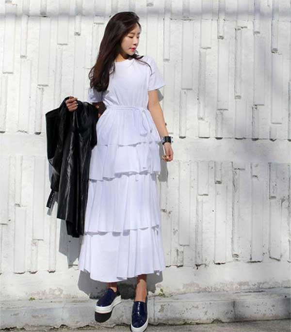 Trend fashion korea - Dress Layering