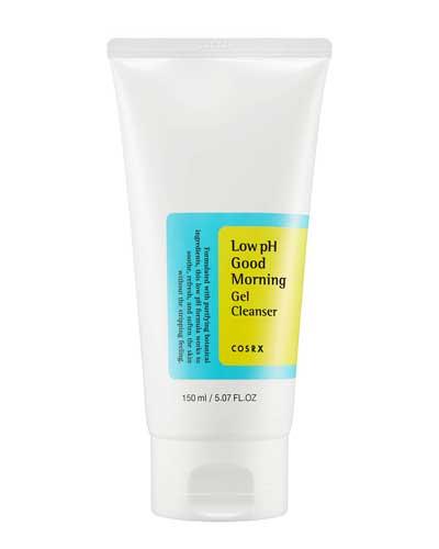 Sabun wajah bagus penghilang komedo - COSRX Low pH Good Morning Gel Cleanser