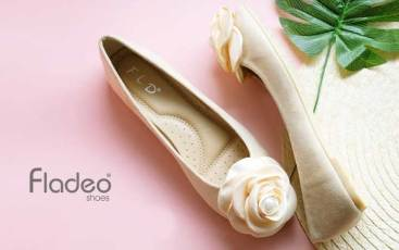Flat Shoes Wanita Branded - Fladeo