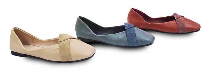 Flat Shoes Wanita Branded - ICONinety9