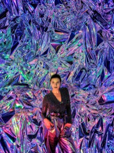 Artist - Haiiileen - mylar - acrylic - Ora