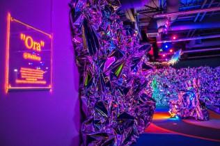 Ora - acrylic - mylar - LED