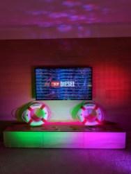 Haiiileen_2018_Diesel_Mylar_Light_Installation_BTS_SwimWeek_Miami_Basement_TheEdition_Aileen_Quintana