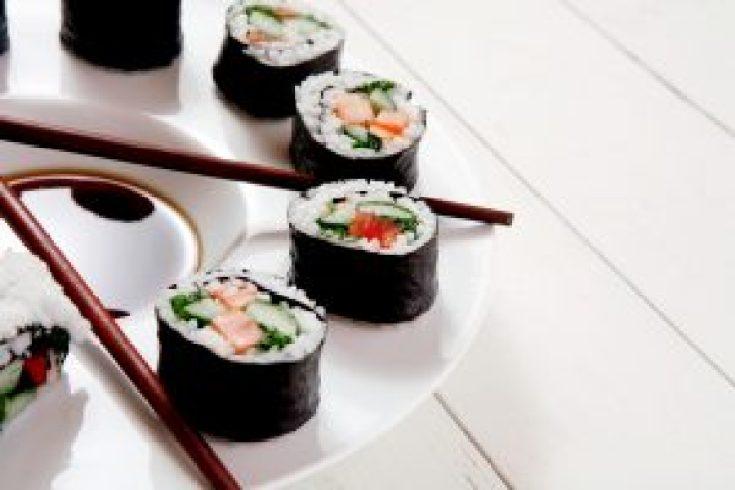 Norimaki sushi