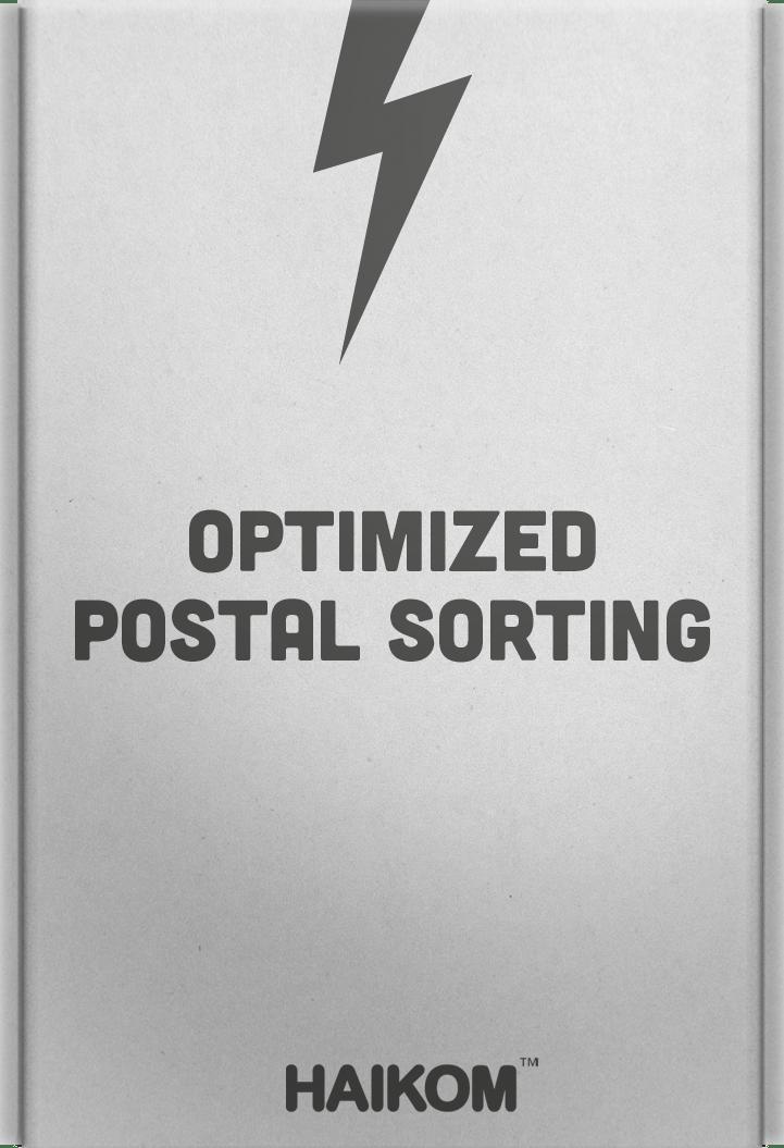 HaiKom Postal Sorting Module