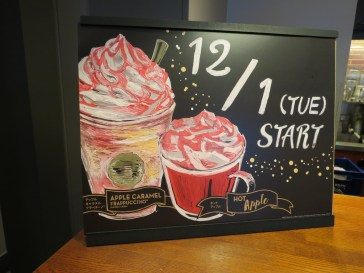 Starbucks Winter Drinks