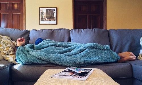 新年の季語『寝正月』