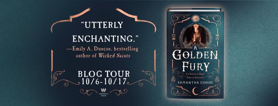 A Golden Fury Blog Tour Banner