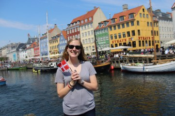 We made it! This is Nyhavn Harbor, one of the most well-known spots in Copenhagen.