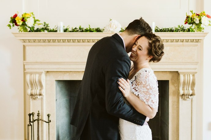 First dance at Portland Maine elopement