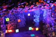 The set for Matilda, a must-see in London!