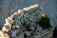 Rocky outcrop at the Grand Canyon, through my long lens