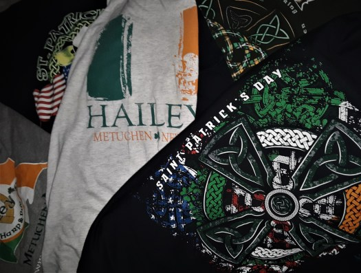 Come on in to get your 2019 collectible St. Patrick's Day T-shirts.We have long and short sleeve Ts. But hurry they are going FAST
