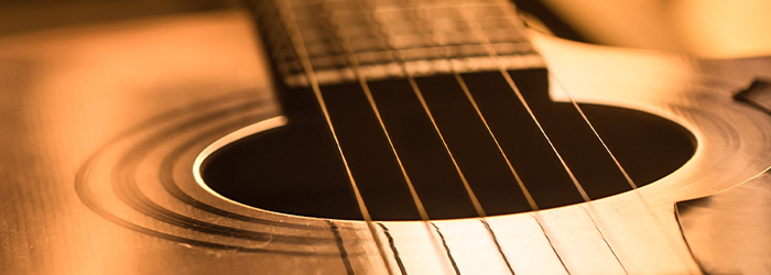 Guitar strings. Bob Burger marks the return of live music at Hailey's Harp and Pub in Metuchen, NJ