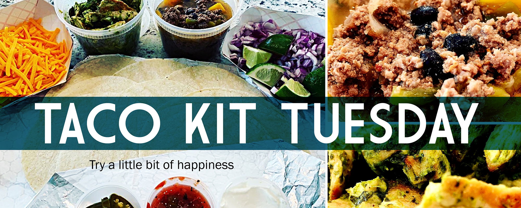 Taco Kits family packages for Taco Tuesday from Hailey's Harp and Pub in Metuchen
