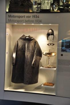 1930's racing cape, cap, goggles, Mercedes
