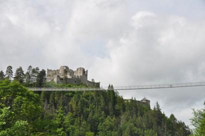 castle with a high bridge