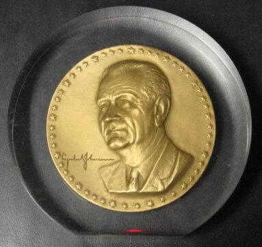 Lyndon Johnson Presidential Inaugural Medal