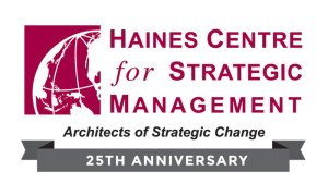Haines Centre Strategic Management 25th Anniversary