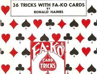 36 Tricks with a Fa-Ko Cards