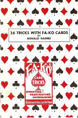 36 Tricks with Fa-Ko Cards (PDF Download)