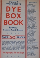 Dye Box Book (Windsor)