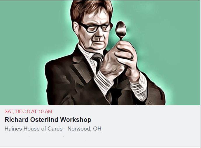 Richard Osterlind Workshop