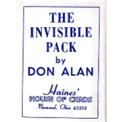 The Invisible Pack by Don Alan