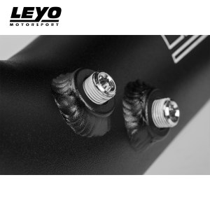 Leyo Motorsport RS3 8V Throttle Pipe (2 Meth Bung Ports)