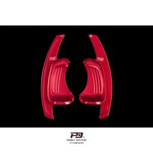 Audi S Tronic Billet Paddle Shift Extension (Red)(v2)