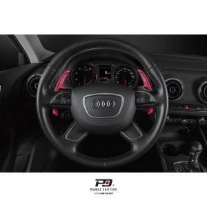 Leyo Motorsport Audi S Tronic Billet Paddle Shift Extension (Red)(v1)