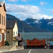 Down town Haines Alaska