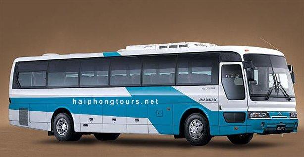 45 seat coach for rent Hai Phong