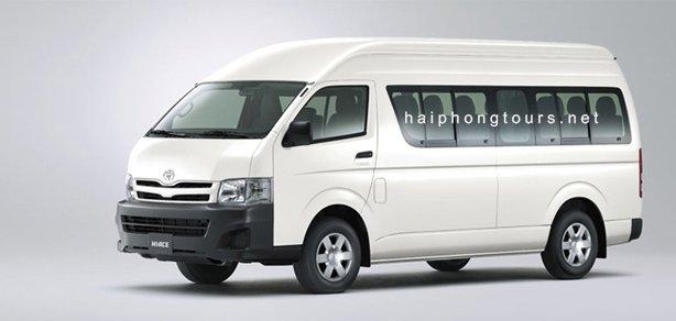 16 seat van for rent Hai Phong