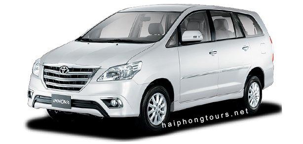 Innova for rent Hai Phong
