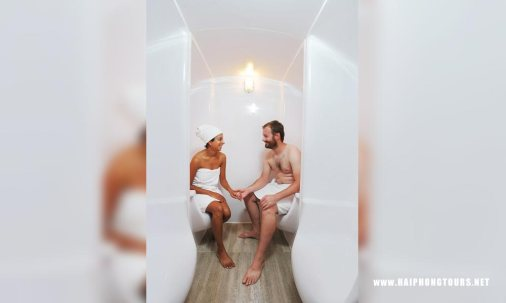 Sauna steambath Starlight cruise