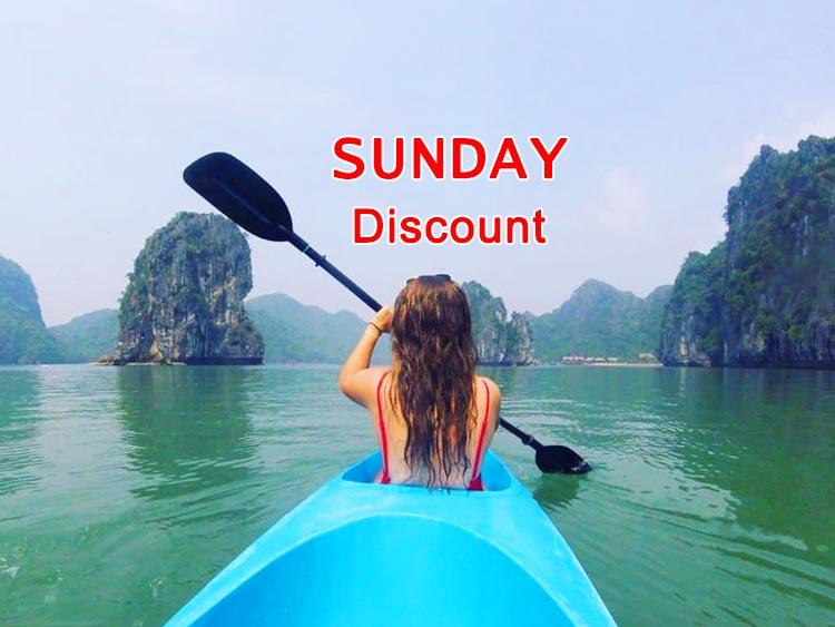 Hai Phong Halong bay day tour Sunday discount