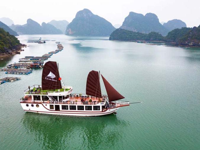 Lan Ha Bay 1 day cruise tour
