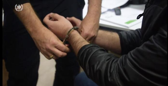 Handcuffs (Photo by the Israel Police)