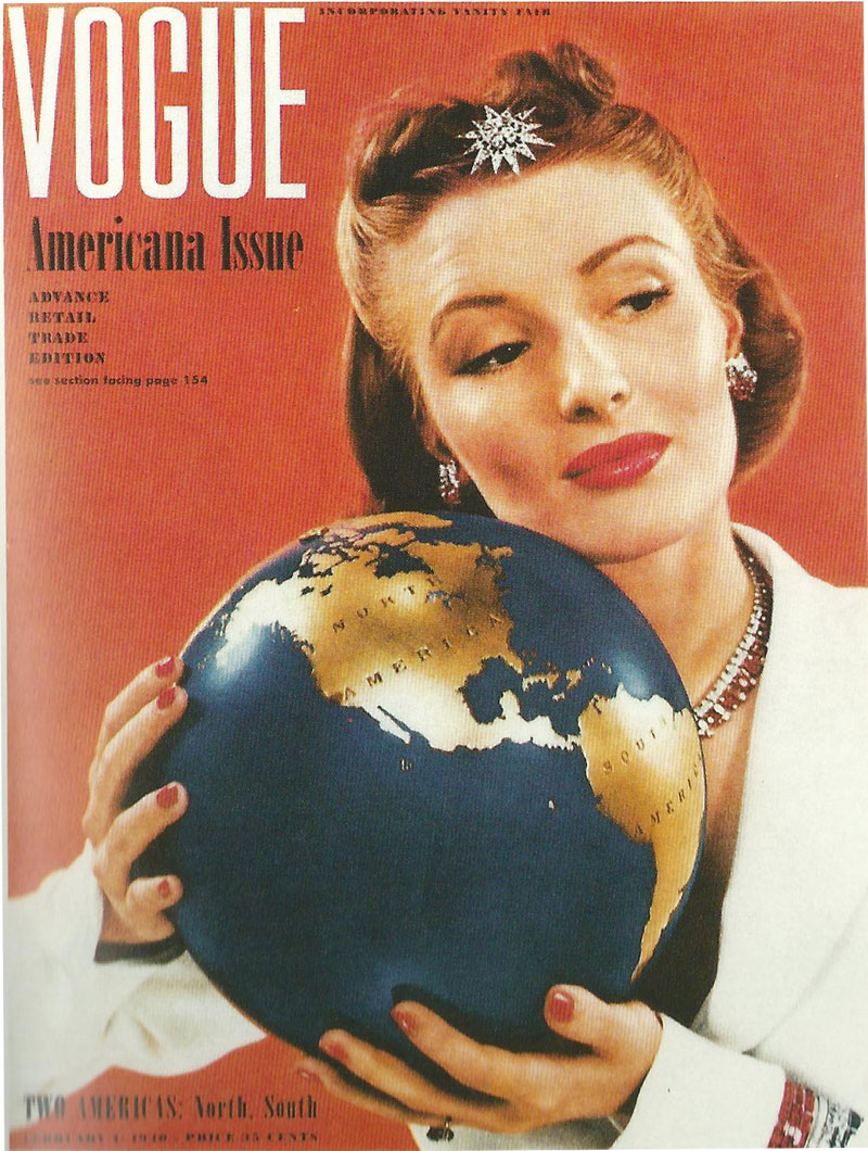 Image result for vogue covers 1930s and 1940s