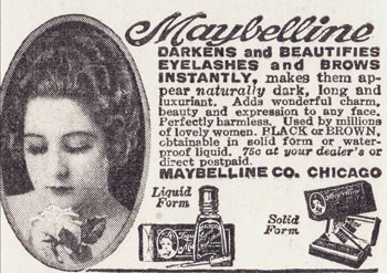 Maybelline Eyelash Beautifier 1920s Hair And Makeup