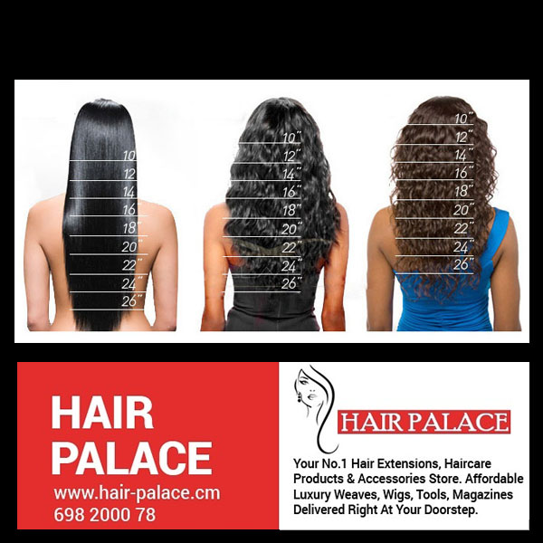 Hair-Palace Extensions Size Chart