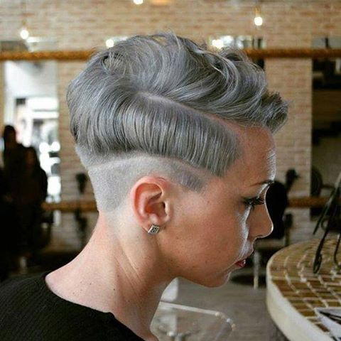 Gray Colors Hairstyles