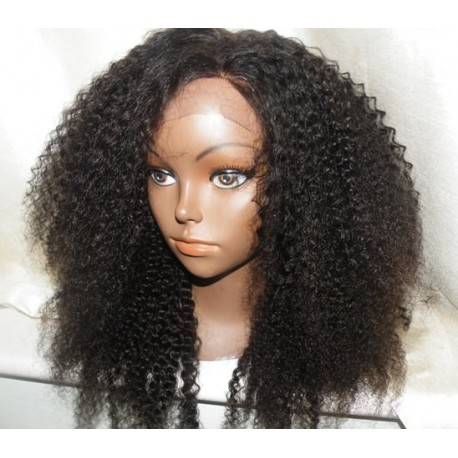 no glue lace front wig afro kinky curl 16inch hair and beauty centre