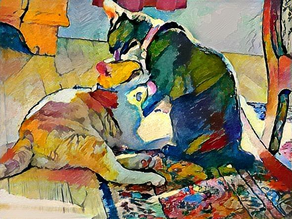 bath-time-dreamscope-caturday-art