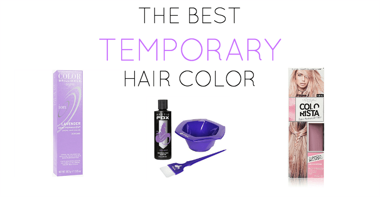 Best Temporary Hair Color Hair Brush Straightener