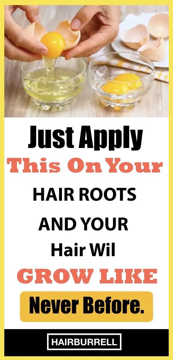 Egg, Castor Oil And Coconut Oil Remedy