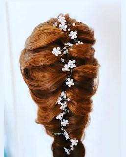 Bridal hair by melissa melody