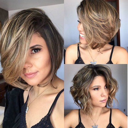 Layered-Bob-Haircut Short Hairstyles for Over 50 Fine Hair