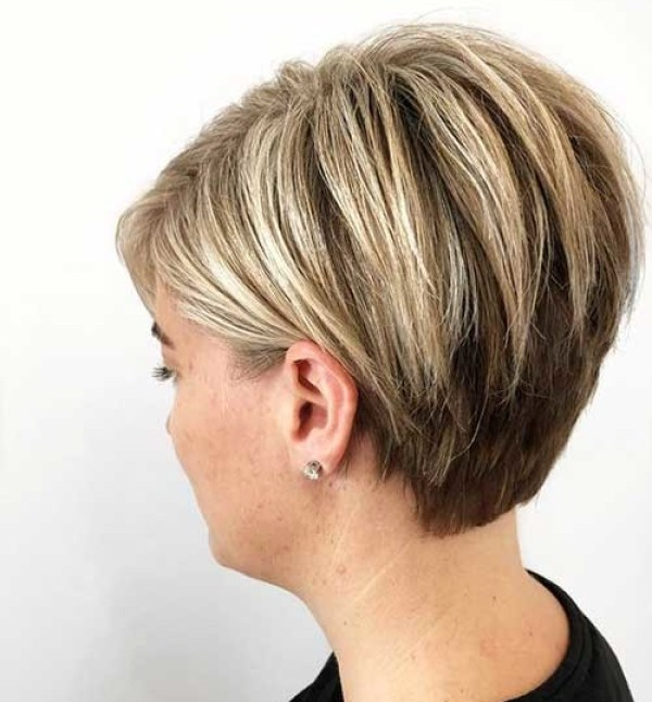 Layered-Short-Hair New Cute Hairstyles for Short Hair 2019